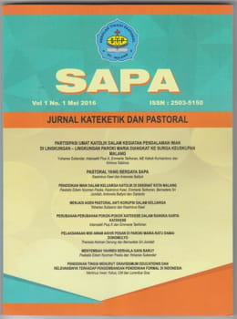 SAPA volume 1 number 1